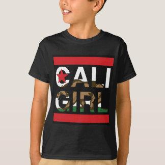Cali Mädchen-Repräsentanten-Rot T-Shirt