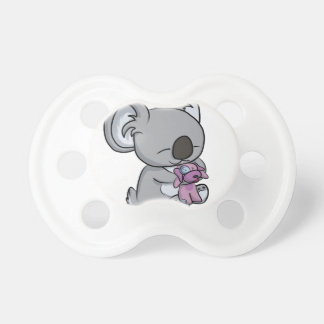 Câlins doux ! Koala Tétine