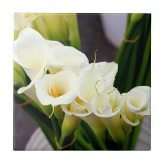 Callalilien-Blumenstraußfliese Fliese