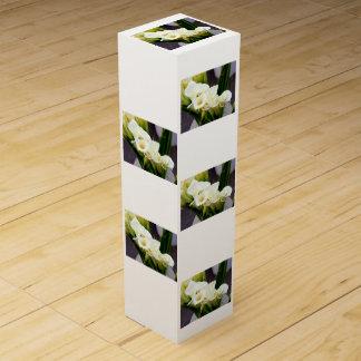 Callalilien-Blumenstraußwein-Geschenkboxen Wein-Geschenkverpackung