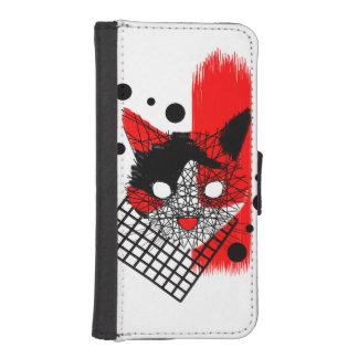 Callie Polka iPhone SE/5/5s Geldbeutel