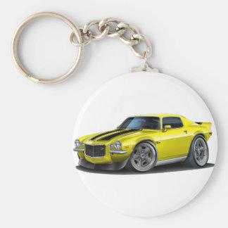Camaro 1970-73 Yel/Schwarzes Schlüsselanhänger