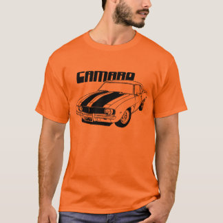 Camaro Muskel-Auto-Entwurf 1969 T-Shirt