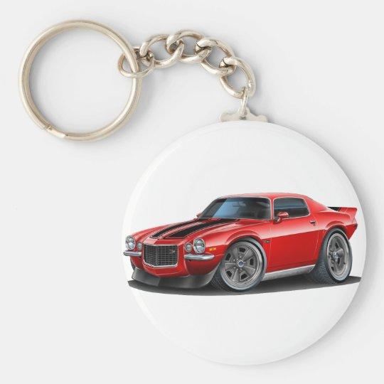 Camaro Rot 1970-73/Schwarzes Schlüsselanhänger