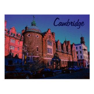 Cambridge-Postkarte Postkarte