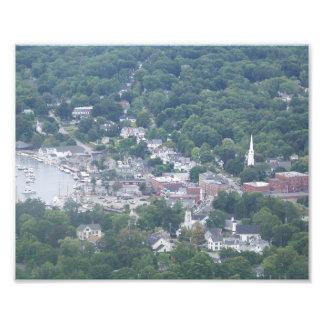 Camden, Maine Photodruck