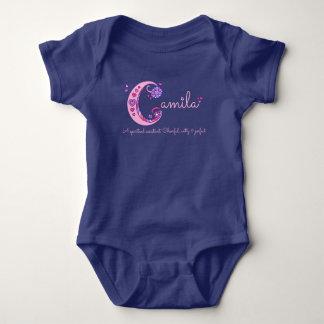 Camila-Mädchenname u. Bedeutung des Baby Strampler