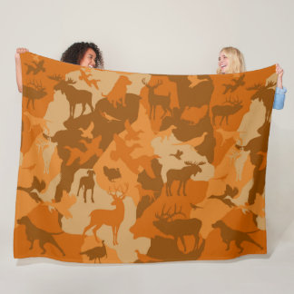Cammo 2/camoflauge/deer/elk/moose/hunting Hund Fleecedecke