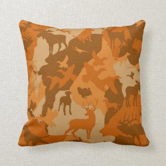 Cammo 3/camoflauge/deer/elk/moose/hunting Hund Kissen