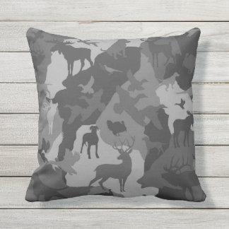 Cammo 4/camoflauge/deer/elk/moose/hunting Hund Kissen