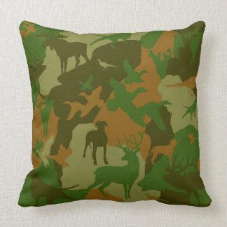 Cammo/camoflauge/deer/elk/moose/hunting Hund Kissen