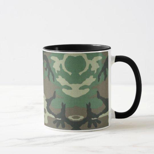 Camoflage Kaffee-Tasse Tasse