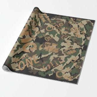 "Camouflage das große Verpackungs-Papier 30"" x 6' Einpackpapier"