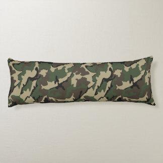 Camouflage, gebürstetes Körper-Kissen Seitenschläferkissen