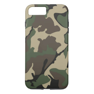 Camouflage iPhone 7 Plus, starker Fall iPhone 7 Plus Hülle