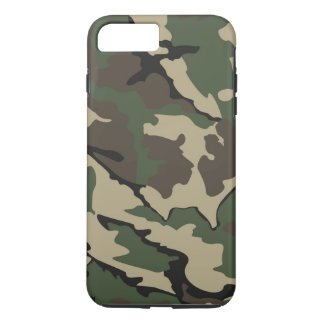 Camouflage iPhone 7 Plus, starker Fall iPhone 8 Plus/7 Plus Hülle