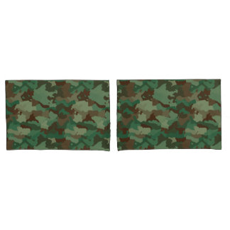 Camouflage Kissen Bezug