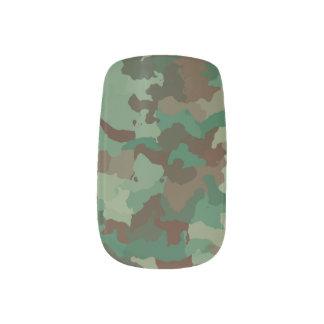 Camouflage Minx Nagelkunst