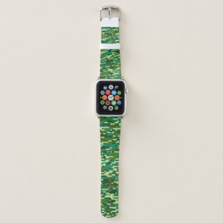 Camouflage-Pixel 2 Apple Watch Armband