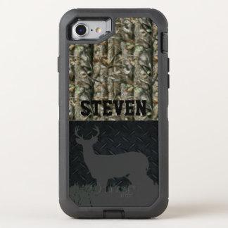 Camouflage-Rotwild, die personalisierten OtterBox Defender iPhone 8/7 Hülle