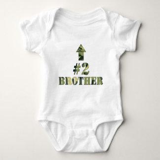 Camouflage-sind mittleres Bruder-Shirt/ich der Baby Strampler