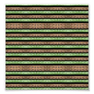 Camouflage-Streifen-Druck Fotodruck