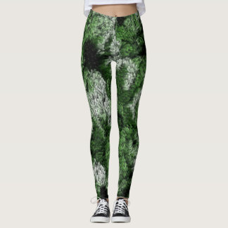Camouflage-Teppich Leggings