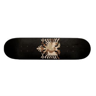 Camouflage-Wüsten-Albaner-Adler 18,7 Cm Mini Skateboard Deck