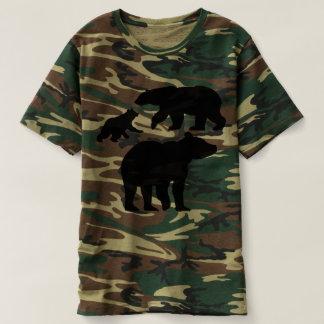 Camouflagebären T-shirt