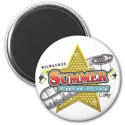 Camp de divertissement d'été aimant