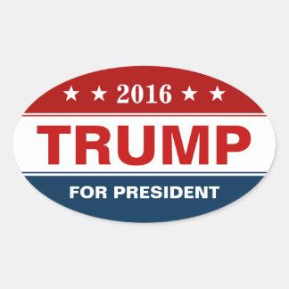 Campagne présidentielle de Donald Trump 2016 Sticker Ovale