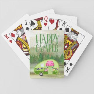 Camper-im FreienSpielkarten Spielkarten