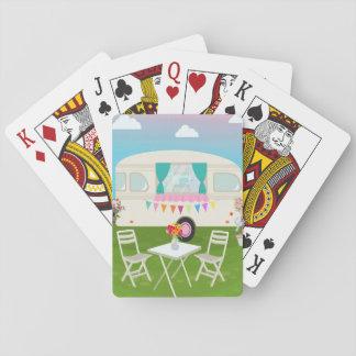Camper-Spielkarten Spielkarten
