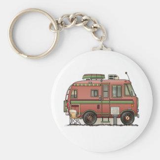 Campeur rv de camping-car de Travco Porte-clef