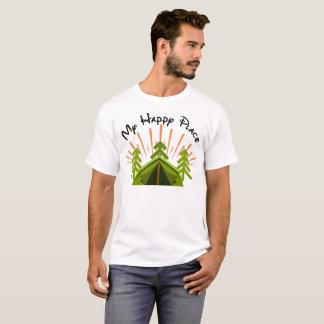 Camping macht mich glücklich T-Shirt