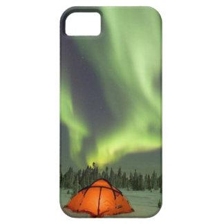 Camping unter der Aurora iPhone 5 Cover