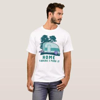 Campings-Zuhauseteardrop-Anhänger RV T-Shirt