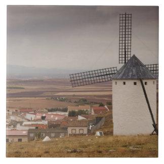 Campo de Criptana, antike La Mancha Windmühlen 4 Keramikfliese