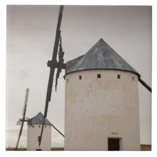 Campo de Criptana, antike La Mancha Windmühlen 5 Keramikfliese