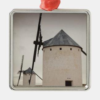 Campo de Criptana, antike La Mancha Windmühlen 5 Silbernes Ornament