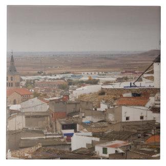 Campo de Criptana, antike La Mancha Windmühlen 6 Keramikfliese