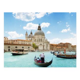 Canal Grande, Venedig-Postkarte Postkarte