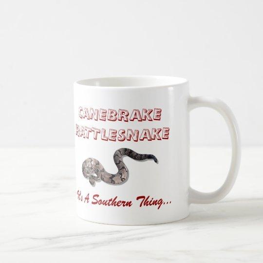 canebrake, canebrake, CANEBRAKERATTLESNAKE, It'… Kaffeetasse