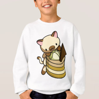 Cannelle Apple Kitty.png Sweatshirt