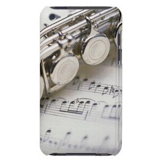 Cannelure sur la musique de feuille étuis iPod touch