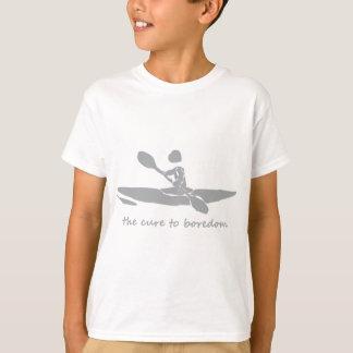 Canoeing….die Heilung zur Langeweile T-Shirt