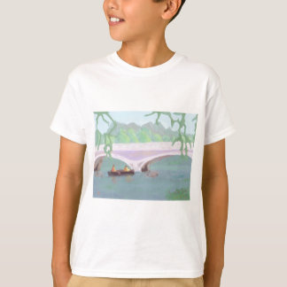 Canoeing friedliche Einsamkeit, T - Shirt/Shirt T-Shirt