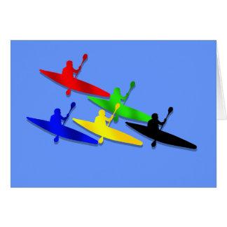 Canoeing Kyaking Kanu kyak Wassersport Karte