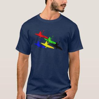 Canoeing Kyaking Kanu kyak Wassersport T-Shirt