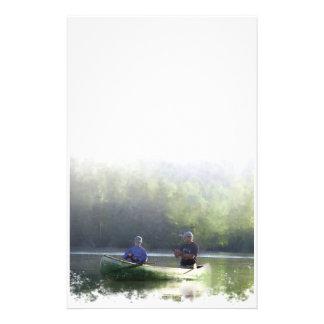 Canoeing - stationär briefpapier